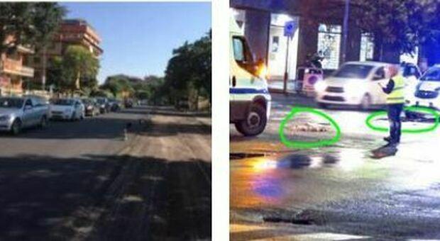 Roma, via Battistini chiusa per voragini: la strada era stata rifatta solo un anno fa