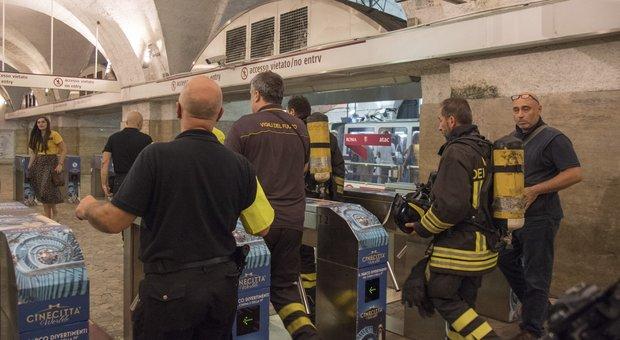 Roma, fumo nella galleria della metro A: stop da Ottaviano a San Giovanni