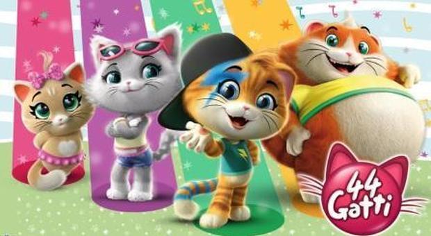 Arrivano i gatti il nuovo cartone animato del gruppo