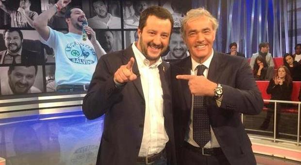 Bufera in tv, Salvini offende Napoli in diretta