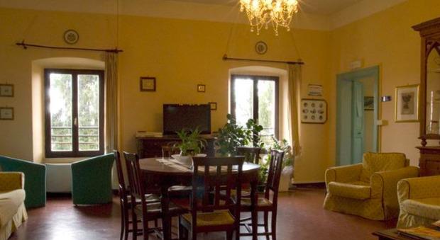 Una stanza di Centro Dca a palazzo Francisci di Todi