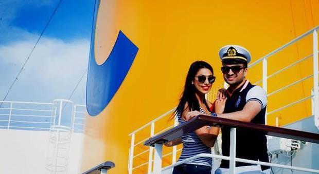 Matrimonio da favola a bordo di costa fascinosa magnate for Piano nave costa fascinosa