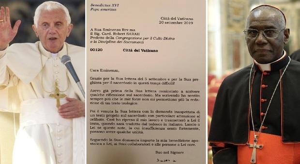 Celibato, il cardinale Sarah: «Ratzinger sapeva, eravamo d'accordo sul testo»