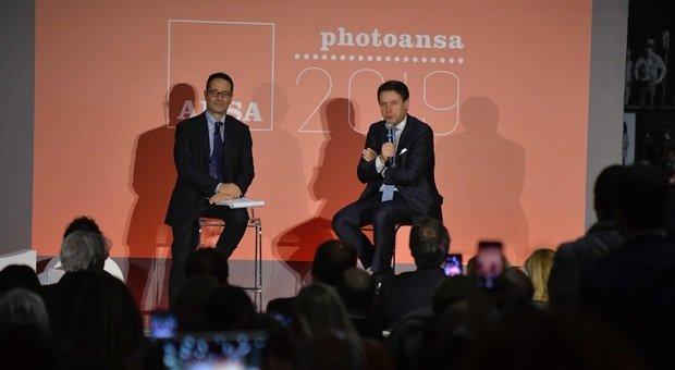 Presentato al Maxxi il libro PhotoAnsa 2019: sul palco anche il Presidente del Consiglio