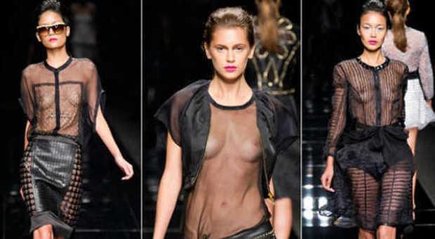 the best attitude 3ec88 bb17e Nude Look e trasparenze: l'effetto vedo non vedo ...