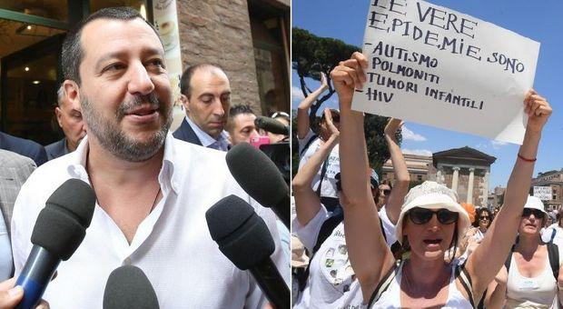 Vaccini, Salvini: inutili 10 obbligatori, tutti i bambini potranno entrare in classe