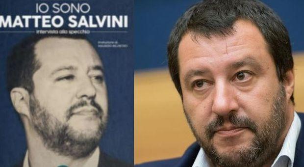 Salvini sceglie l'editore di CasaPound per il suo libro-intervista