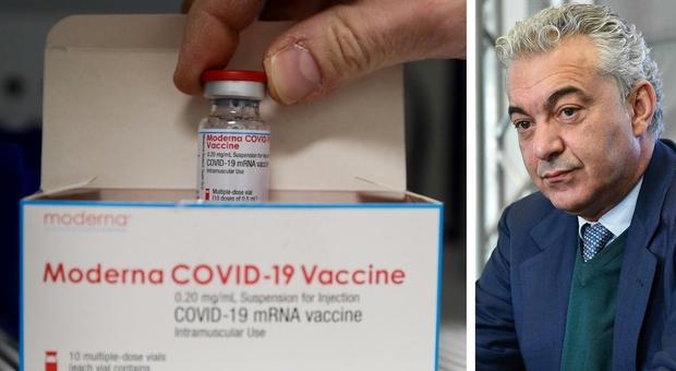 Vaccini, allarme di Arcuri: «Moderna taglia le dosi del 20%, ce ne mancano almeno 300mila»