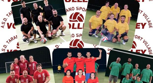 Tarano Sport Village, successo per il secondo torneo di volley misto amatoriale