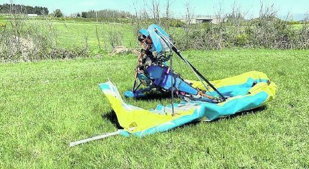 Precipita col deltaplano durante la trasvolata della Valle del Sacco, grave un ciociaro di 47 anni