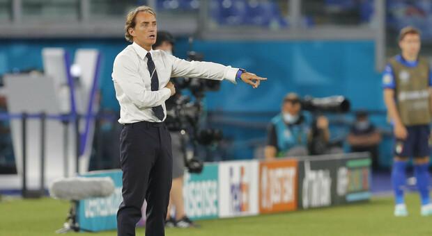 Italia-Galles, Mancini: «Niente biscotto, giochiamo per la vittoria. Verratti c'è»