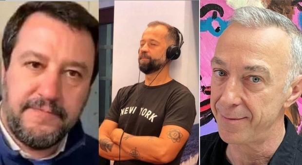 Salvini, Linus bacchetta Fabio Volo: «Non era autorizzato, mi scuso a nome di Radio Deejay»