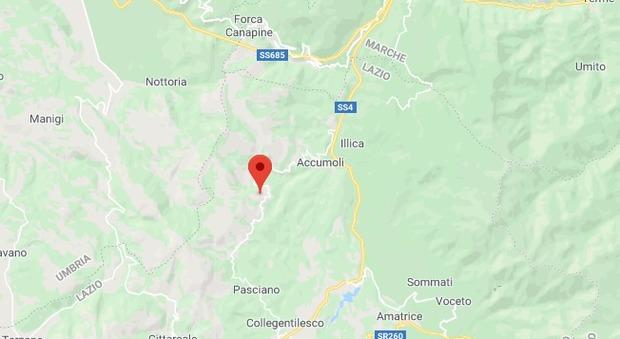 Terremoto ad Accumoli di 2.8 avvertito anche nella vicina Amatrice