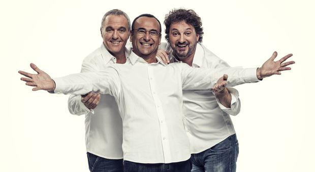 Il trio Conti, Panariello e Pieraccioni
