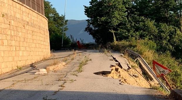 Frana di via Calzatora ad Anagni, Legambiente critica e stima i costi per i residenti