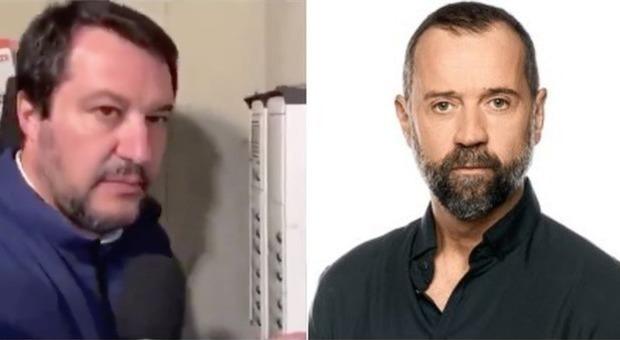 Salvini, Fabio Volo canta in diretta Stupendo di Vasco Rossi e urla: «Mi viene il vomito»