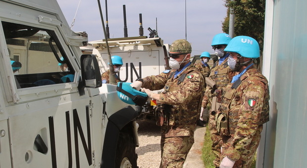 Coronavirus, così i 1200 militari italiani impiegati in Libano vivono l'emergenza: «Qui misure di tutela da febbraio»