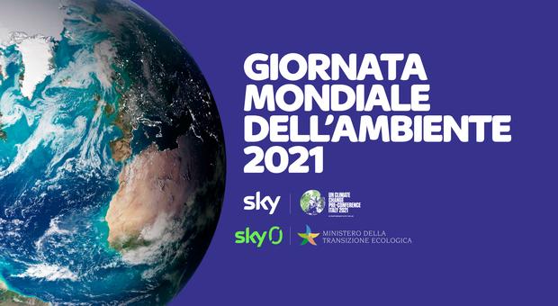 Giornata mondiale dell'ambiente, Sky in campo per la salvaguardia del pianeta