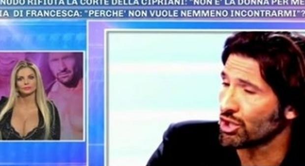 Francesca Cipriani furiosa con Walter Nudo, bagarre a Pomeriggio 5: «È un maleducato, mi ha umiliato»