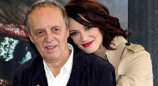 Dario Argento con la figlia Asia