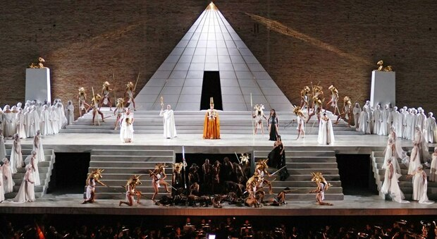L'Aida allo Sferisyerio di Macerata