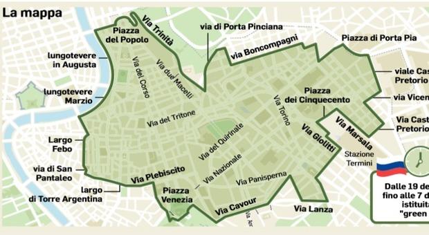 Roma blindata per Putin: green zone e tiratori scelti