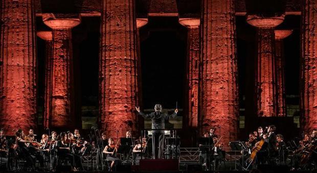 Riccardo Muti ha diretto a Paestum
