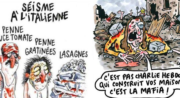Charlie Hebdo, vignetta su morti del terremoto