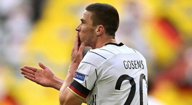 Portogallo-Germania, Gosens è super: assist, gol e standing ovation