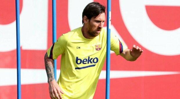 Bartomeu gela l'Inter: «Messi resterà al Barcellona»