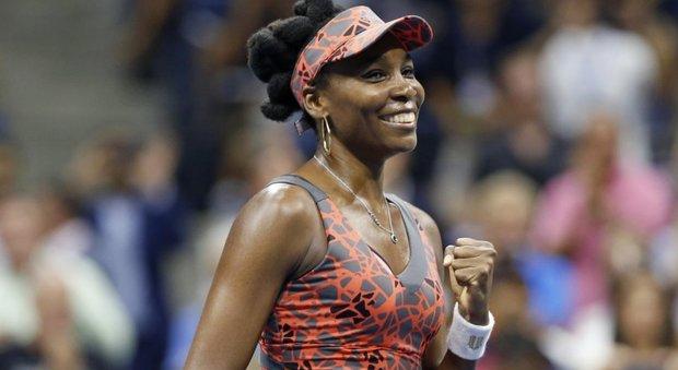 US Open, Venus Williams in semifinale a 37 anni