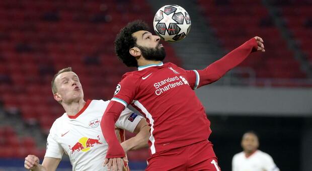 Il Liverpool fa copia e incolla: 2-0 al Lipsia e quarti conquistati