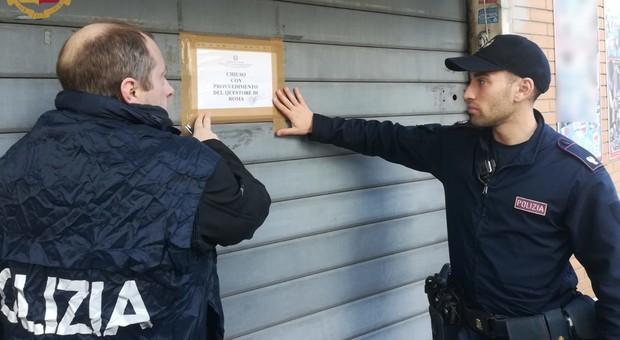 Spaccio di droga nel locale e mancanza di autorizzazioni, chiuso bar a Giardinetti