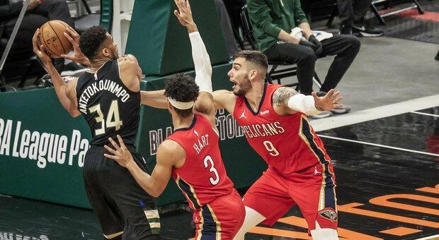 Clippers, ko a sorpresa con Memphis. Antetokounmpo vince il duello con Zion