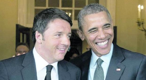 Obama con Renzi: «Avanti sulle riforme, gli Usa puntano su un'Italia stabile»