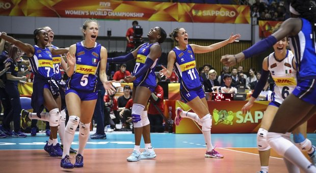 Volley Mondiali 2018, il calendario Final Six: Italia, Serbia e Giappone