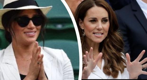 Meghan Markle ignora Kate Middleton e va a Wimbledon con le amiche: cognate sempre più distanti