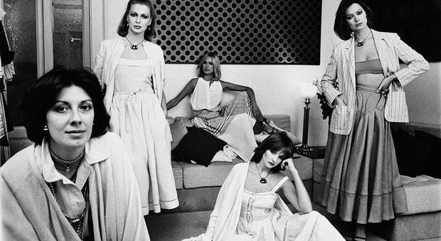 Laura Biagiotti, la stilista del bianco che vestiva attrici e mogli di presidenti