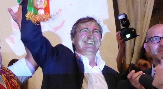 Brugnaro festeggia la vittoria a Venezia