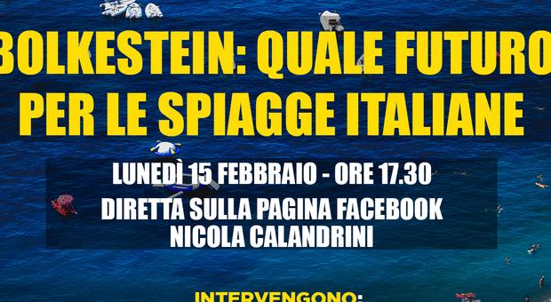 Concessioni balneari, webinar sul futuro delle spiagge italiane
