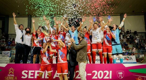 Futsal donne, il Montesilvano campione d'Italia