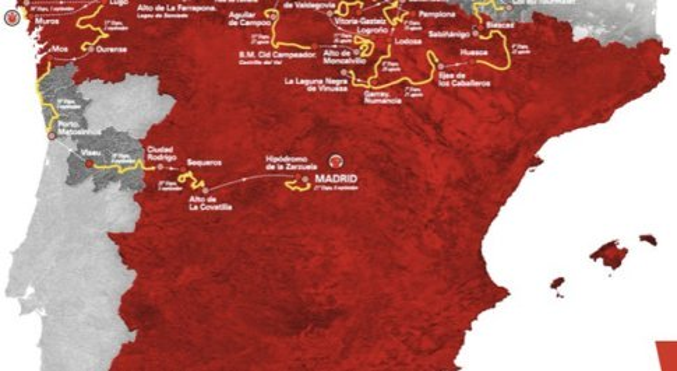 Vuelta 2020, si partirà dai Paesi Bassi. Ci saranno Tourmalet e Angliru