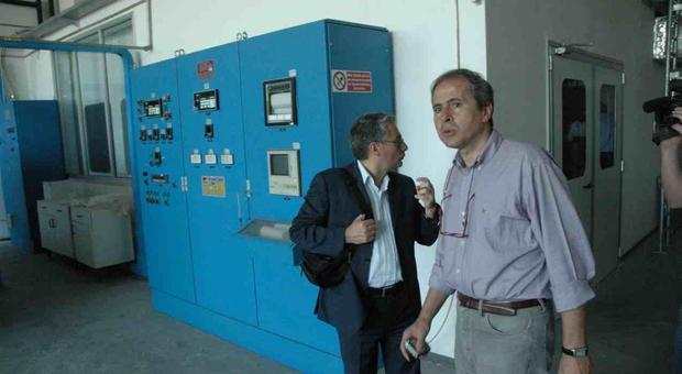 Andrea Crisanti, quando era ricercatore alla sede di Terni dell'Università di Perugia