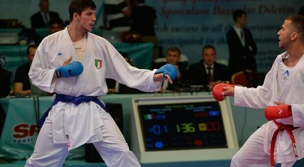 Il karateka pontino Simone Marino