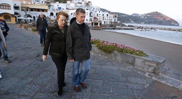 Merkel in vacanza a Ischia lo scorso anno