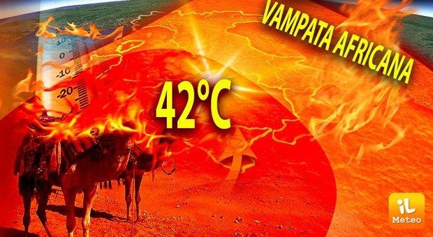 Previsioni meteo, weekend africano: da domani punte di 42° sulle isole