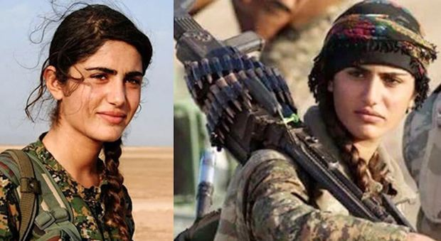 Isis uccide in battaglia l'Angelina Jolie del Kurdistan