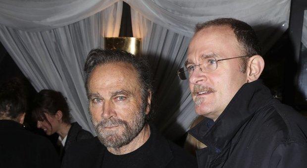 Franco  Nero con il figlio Carlo Gabriel Paolo  Rizzo/Ag.Toiati