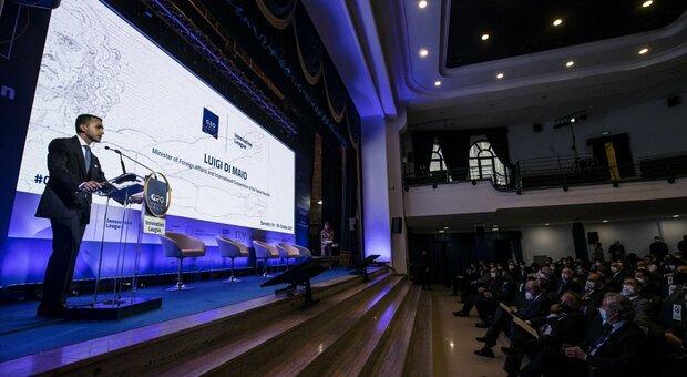 Il ministro degli Affari Esteri Luigi Di Maio durante il G20 Innovation League a Sorrento