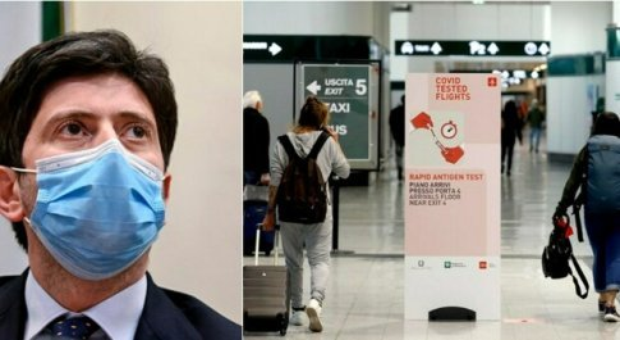Green pass, Speranza: «Proporrò che sia utilizzato anche per Paesi extra Ue come Stati Uniti e Giappone»